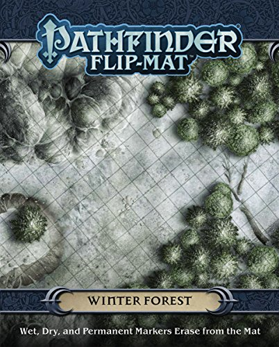 9781601257970: Pathfinder Flip-Mat: Winter Forest