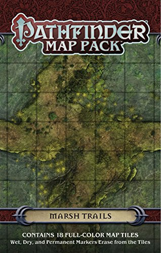 9781601258021: Pathfinder Map Pack: Marsh Trails