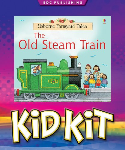 9781601300386: The Old Steam Train Kid Kit [With 24 Piece Toy Train Locomotive] (Kid Kits)