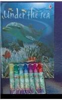 9781601300485: Under the Sea Kid Kit [With 3 Velvet Art PicturesWith 7 Felt Tip Pens] (Usborne Kid Kits)
