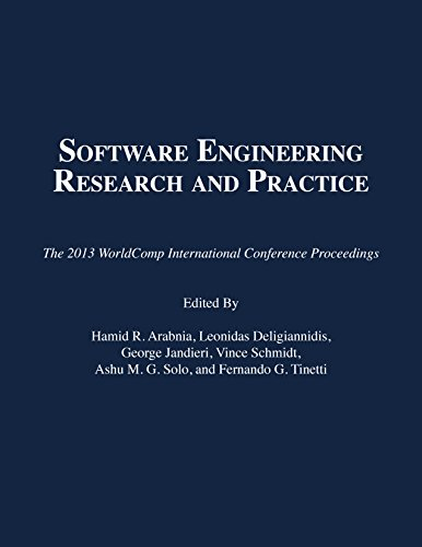 9781601322609: Software Engineering Research and Practice (The 2013 WorldComp International Conference Proceedings)