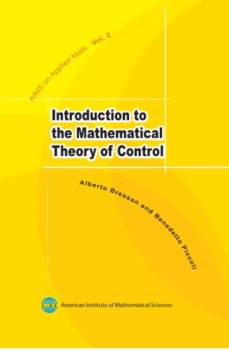 9781601330024: Introduction to the Mathematical Theory of Control (Applied Mathematics)
