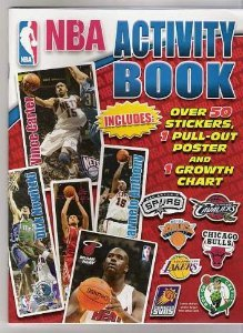 9781601393142: NBA Activity Book with Stickers, Poster & Growth Chart
