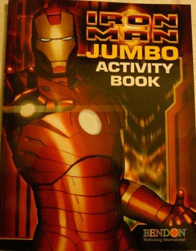 Iron Man Jumbo Activity Book (Marvel, Iron Man): Marvel Entertainment, Inc.