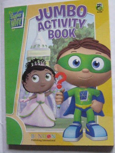 9781601395788: Super Why Jumbo Activity Book