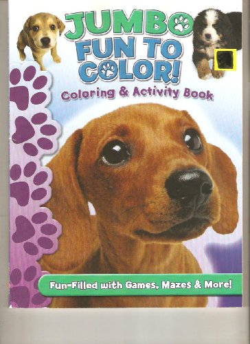 9781601396365: Jumbo Fun to Color *Coloring & Activity Book *Six (6) books