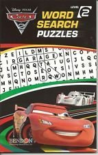 9781601397782: Disney Pixar Cars Word Search Puzzles Level 2 (Digest)