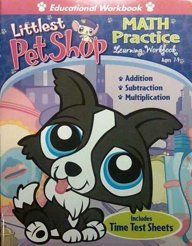 9781601399069: Littlest Pet Shop Math Practice Learning Workbook