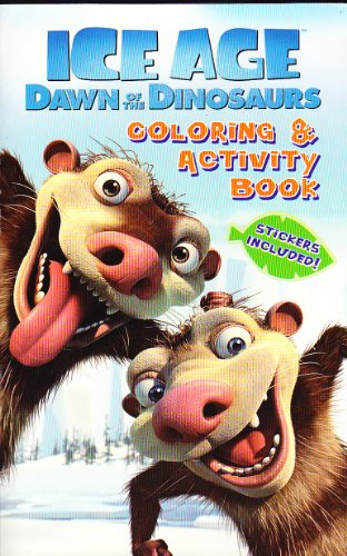 9781601399182: Ice Age: Dawn of the Dinosaurs (Coloring ^ Activity Book; Stickers Included)