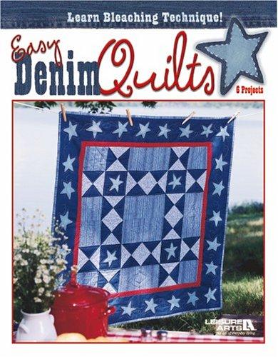 9781601401625: Easy Denim Quilts (Leisure Arts #3800)