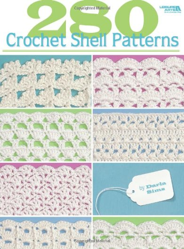 280 Crochet Shell Patterns (Leisure Arts #3903): Sims, Darla