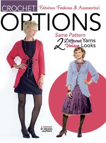 9781601403407: Options Crochet Fashion (Leisure Arts #4130)