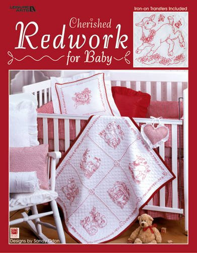 9781601403803: Cherished Redwork for Baby (Leisure Arts #3399)
