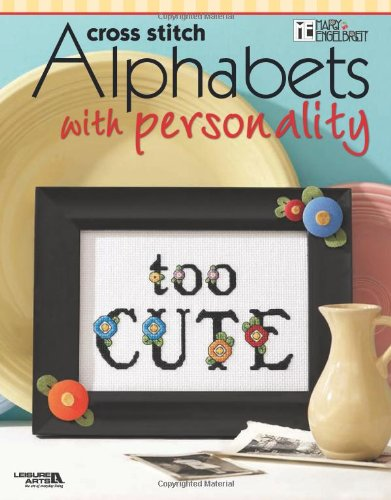 9781601404381: Mary Engelbreit: Alphabets with Personality (Leisure Arts #4257) (Mary Engelbreit (Leisure Arts))