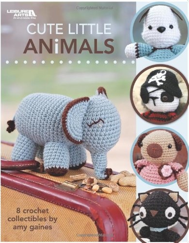 9781601404671: Cute Little Animals (Leisure Arts #4271)