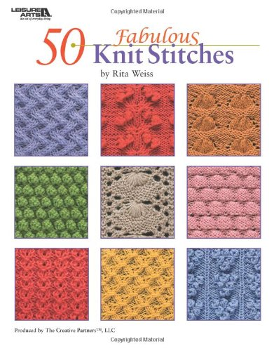 9781601404886: 50 Fabulous Knit Stitches (Leisure Arts #4280)