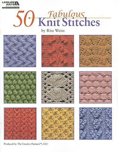 9781601404886: 50 Fabulous Knit Stitches