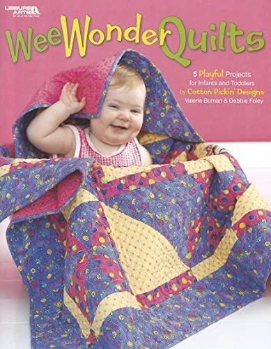 Wee Wonder Quilts (Leisure Arts #3898): Boman/Foley (Cotton Pic)