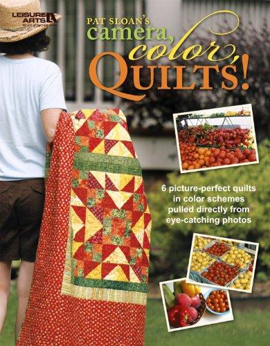 Camera, Color, Quilts! (Leisure Arts #4825): Pat Sloan