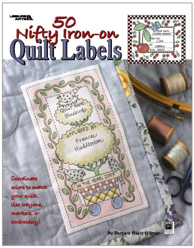 9781601407368: 50 Nifty Iron-On Quilt Labels (Leisure Arts #3466)