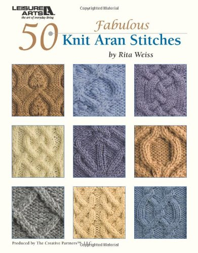 9781601407849: 50 Knit Aran Stitches (Leisure Arts #4530)