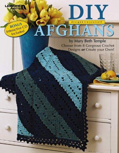 9781601409225: DIY Design It Yourself Afghans with a BONUS CD (Leisure Arts #4750)