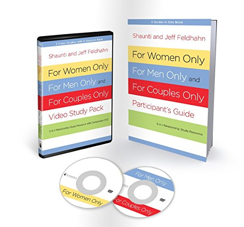 9781601424730: For Women Only, For Men Only, and For Couples Only Video Study Pack: Three-in-One Relationship Study Resource with Companion DVD