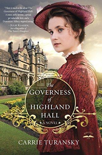 9781601424969: The Governess of Highland Hall: A Novel (Edwardian Brides)