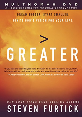 9781601426680: Greater DVD: Ignite God's Vision for Your Life
