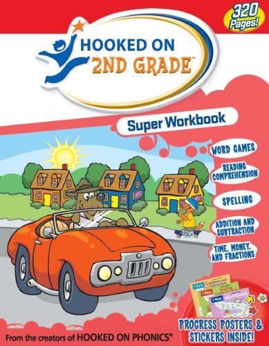 9781601434685: Hooked On Second Grade Super Workbook (Hooked on Phonics)