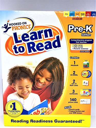 9781601437624: Hooked on Phonics Learn to Read PreK Edition