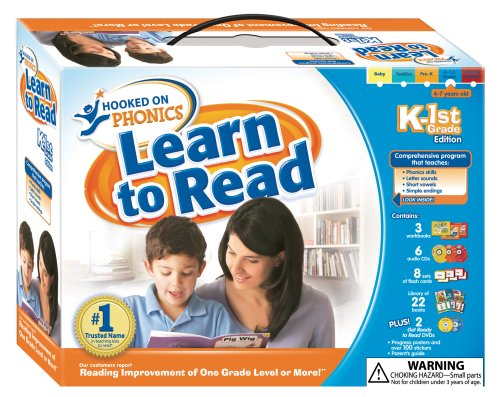 Learn to Read K-1st Grade Full Kit: Hooked on Phonics