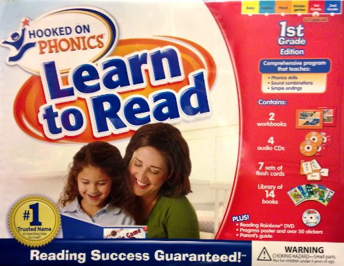 Learn to Read Deluxe 1st Grade Edition with DVD
