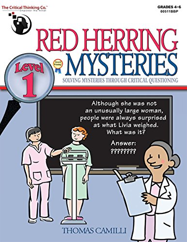 9781601441621: Red Herring Mysteries Level 1 - Solving Mysteries through Critical Questioning (Grades 4-6)