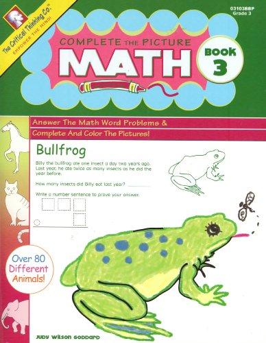 Beispielbild für Complete the Picture: Math, Grade 3, Book 3 zum Verkauf von HPB-Diamond