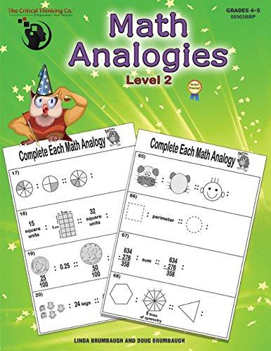 9781601441980: Math Analogies: Book 2 (Grades 4-5)