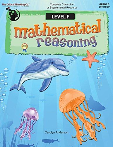 9781601442666: Mathematical Reasoning, Level F, Grade 5