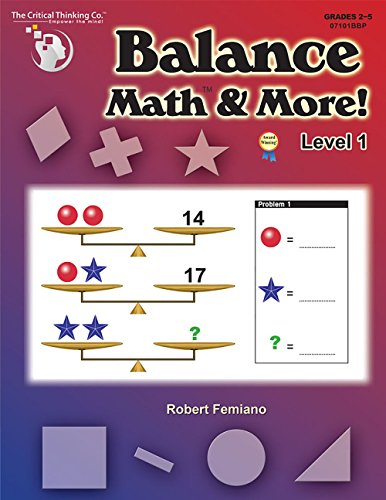 Balance Math & More! Level 1 (Grades: Robert Femiano