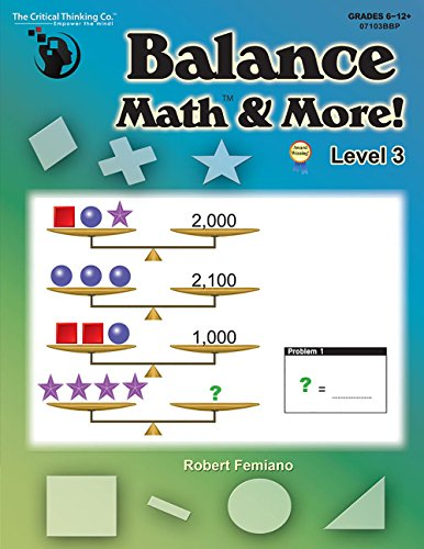 Balance Math & More! Level 3