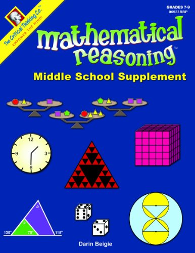 9781601444110: Mathematical Reasoning: Middle School Supplement
