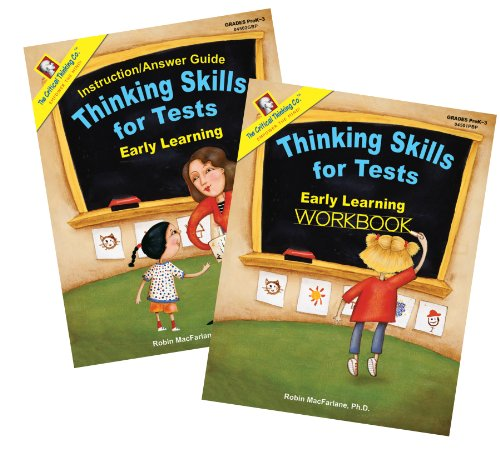9781601446435: Thinking Skills for Tests: Early Learning Set
