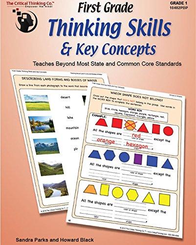 9781601446589: First Grade Thinking Skills & Key Concepts