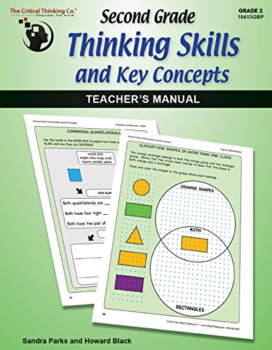 9781601448453: Second Grade Thinking Skills & Key Concepts: Teacher's Manual - Teaches Beyond Most State & Common Core Standards (Grade 2)