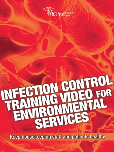 9781601460578: Infection Control Training Video for Environmental Services: Keep Housekeeping Staff and Patients Healthy