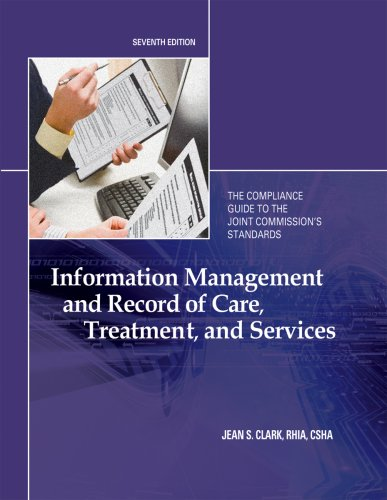 9781601465726: Information Management and Record of Care, Treatment, and Services