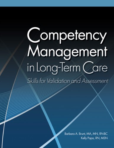 9781601466334: Competency Management in Long-Term Care: Skills for Validation and Assessment