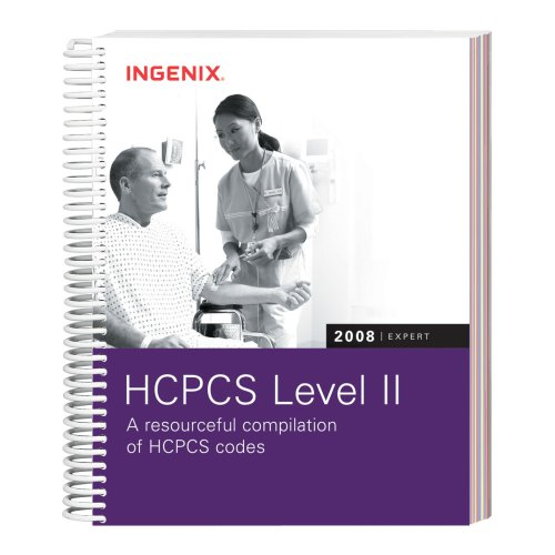 HCPCS 2008 Level II Expert (Hcpcs Level II Expert (Spiral)): Ingenix