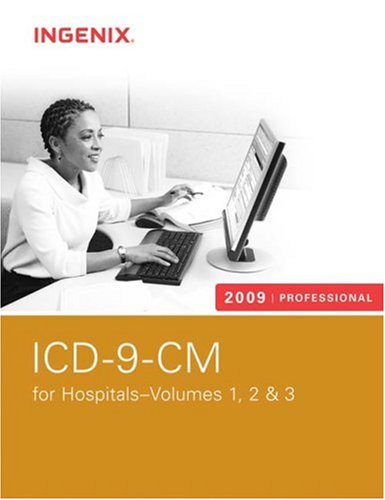 9781601511270: ICD-9-CM 2009 Professional for Hospitals (3 Volumes) (ICD-9-CM PROFESSIONAL FOR HOSPITALS)