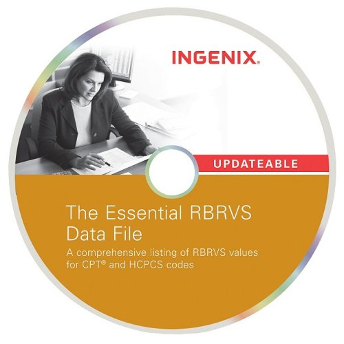 The Essential RBRVS Data File 2009: Single User License (1601512163) by Ingenix