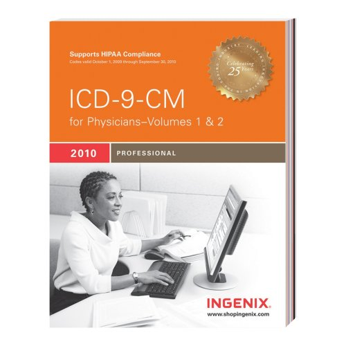9781601512598: ICD-9-CM Professional for Physicians, Volumes 1 & 2-2010: Full Size (Physician's Icd-9-Cm)